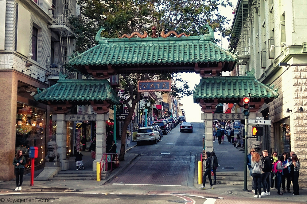 Dragon Gate de Chinatown