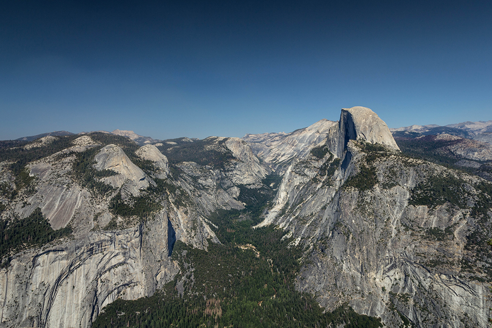 Vue de Glacier Point