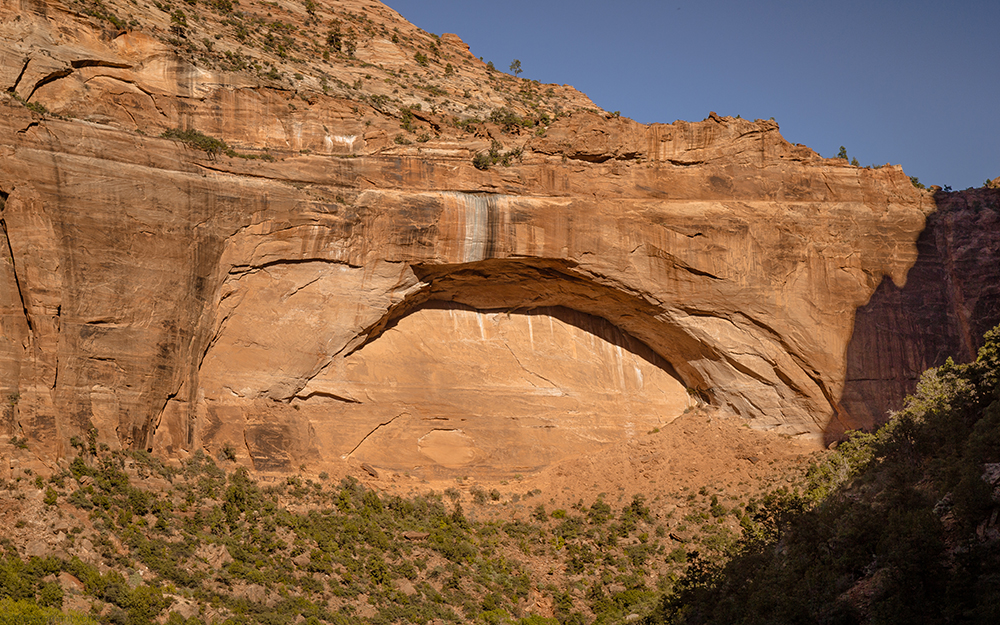 The great Arch, Zion