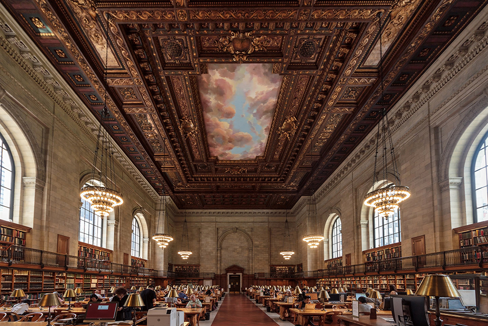 The New York Public Library New York USA
