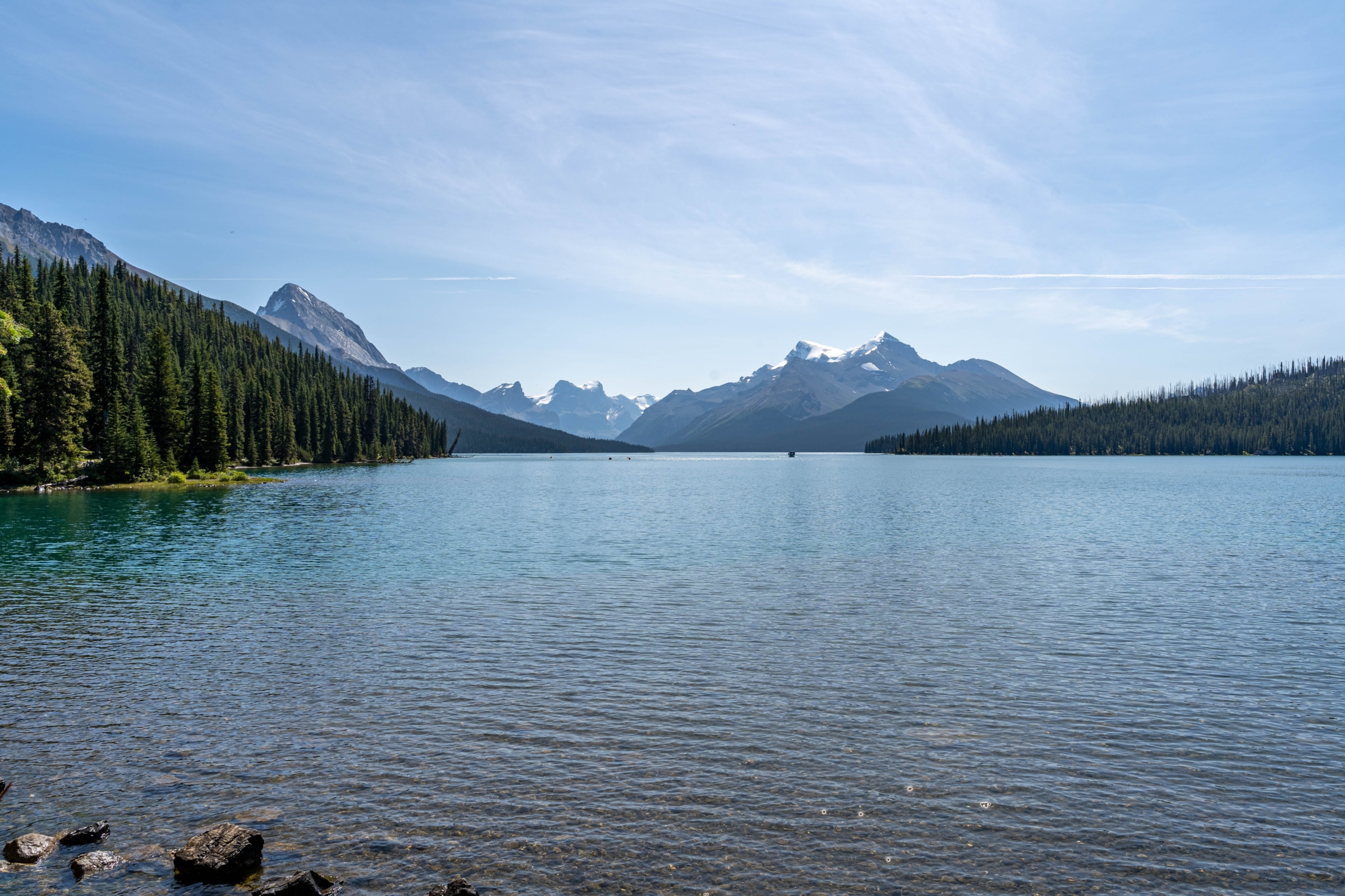 Maligne Lake Parc national de Jasper Canada