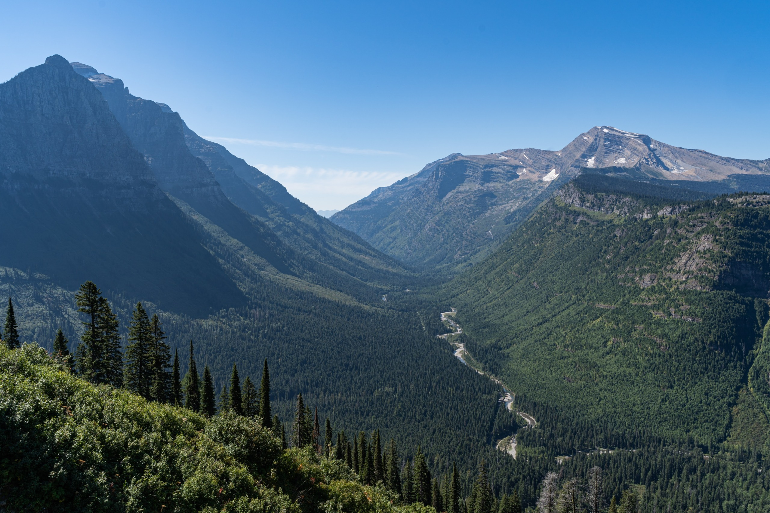 Going-to-the-Sun Road, Glacier National Park, Montana, USA