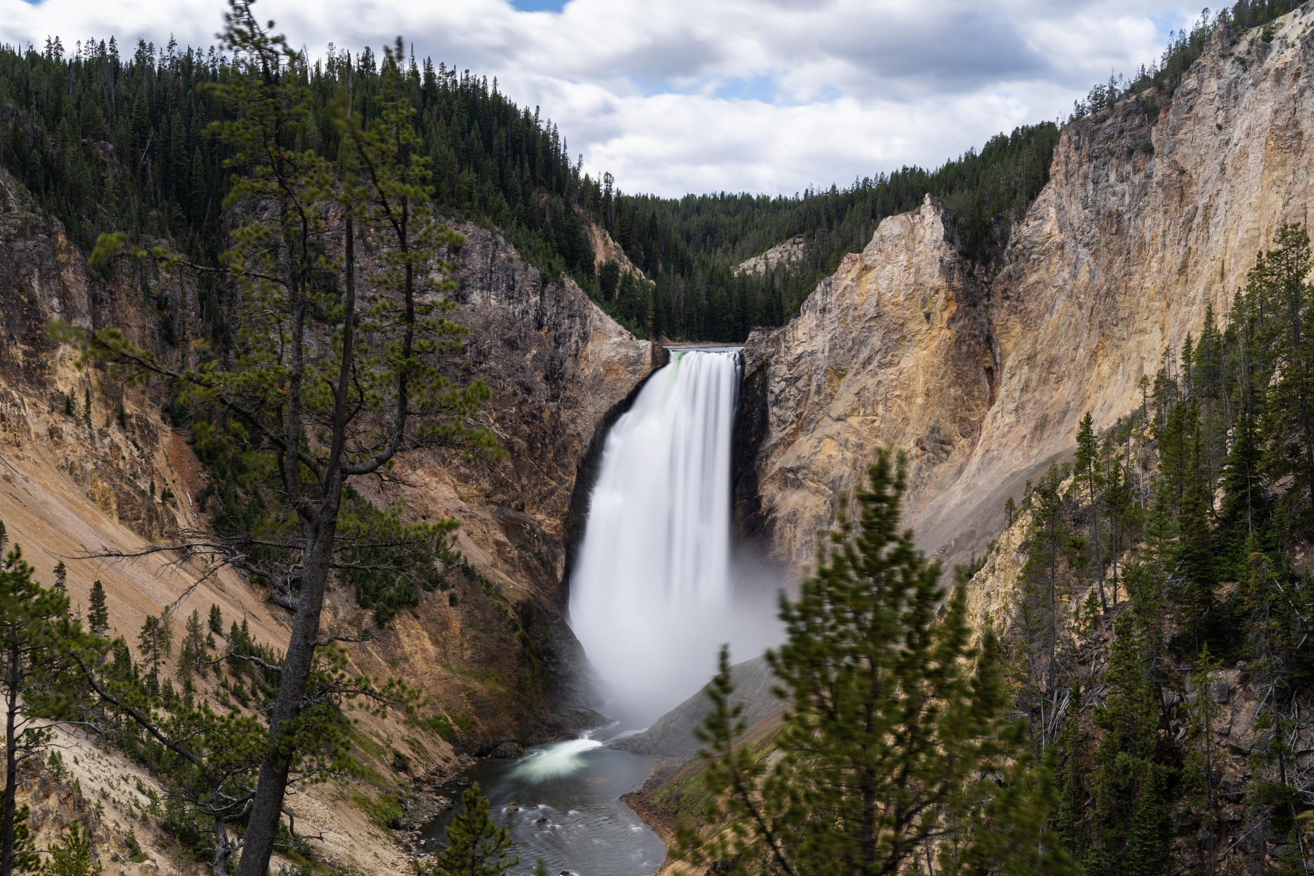Grand Canyon of the Yellowstone, Wyoming, USA