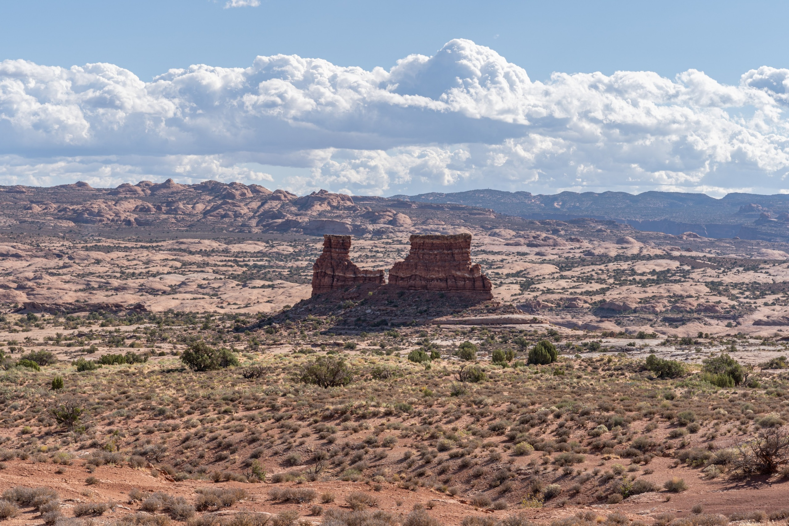 Courthouse Towers, Arches National Park, Utah, USA