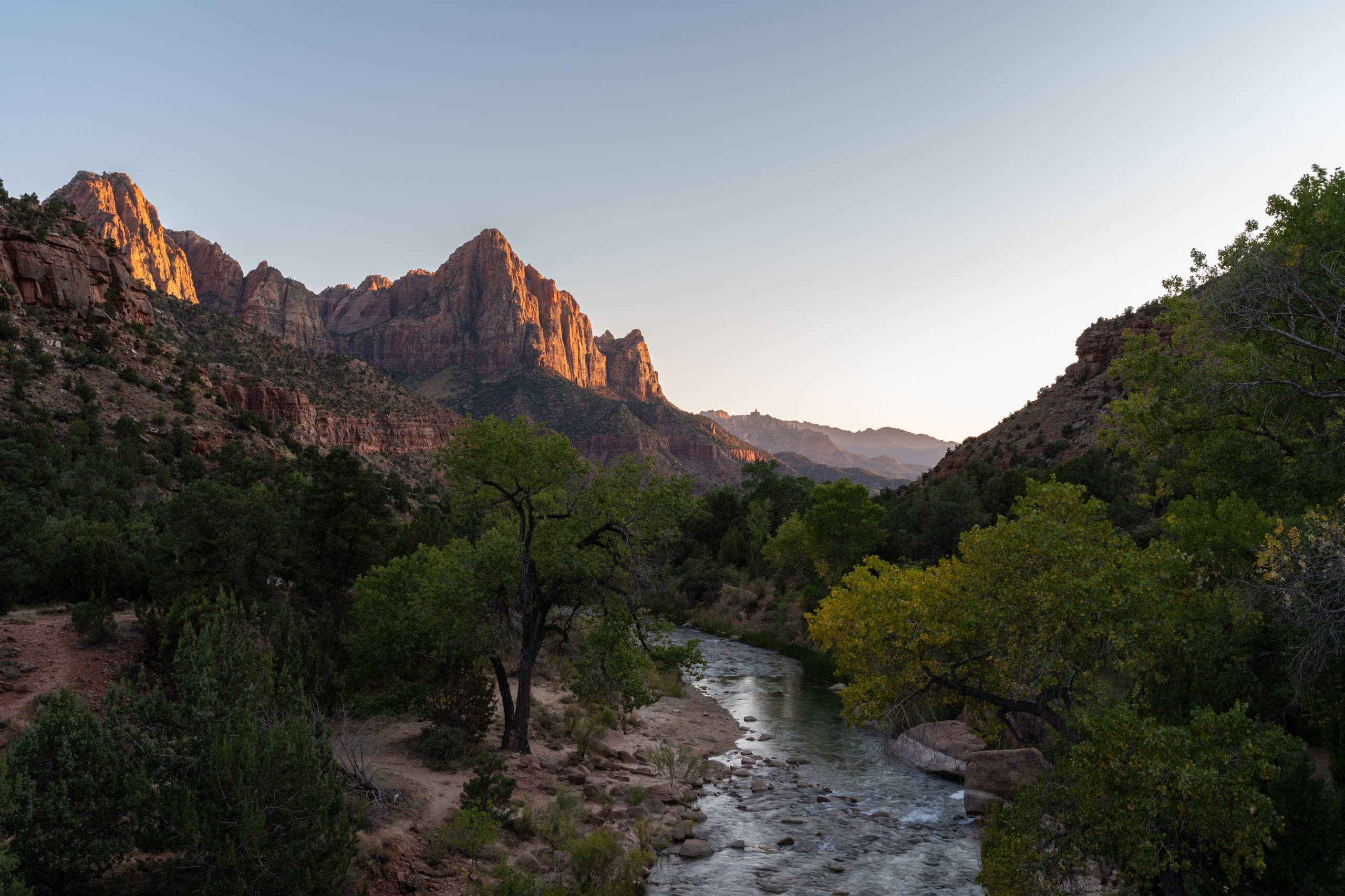 The Watchman, Zion National Park, Utah, USA